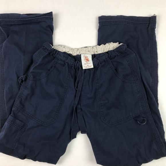 7d43d6c3e17 Koi by Kathy Peterson Pants - Koi Scrub Pants Women's XS Navy Blue Medical